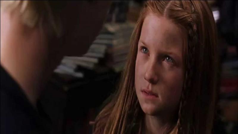Dans quel film de la saga voit-on Ginny comme cela ?