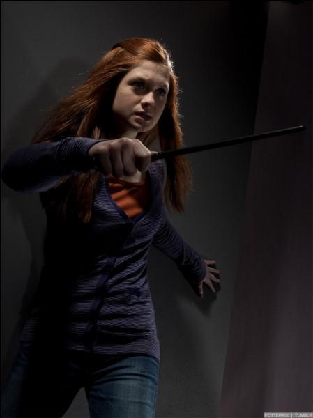 Dans quel film de la saga voit-on Ginny comme ça ?