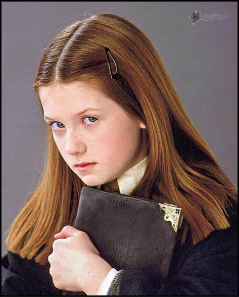 Dans quel film de la saga voit-on Ginny comme ?
