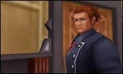 Comment s'appelle ce garde du Jardin Radieux qui est la forme humaine de Lexaeus, le cinquième membre de l'Organisation XIII ?