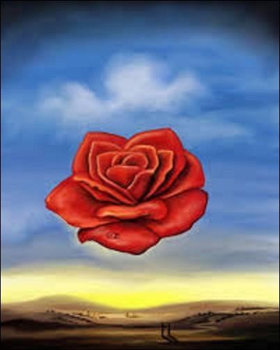 Quel artiste surréaliste a peint en 1958 ''La Rose méditative'' , une huile sur toile (H : 0,36 m x 0,28 m) ?