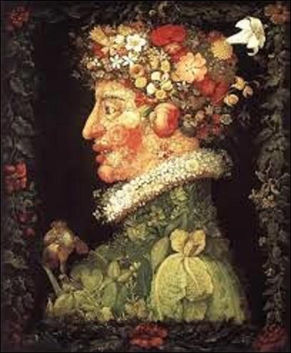 ''Le Printemps'' est une huile sur chêne faisant partie d'une série de quatre tableaux intitulés ''Les Saisons'' peints entre 1563 et 1573. Glorifiant la maison de Habsbourg, non sans ironie, ils furent offerts à l'électeur de Bavière et gouverneur des Pays-Bas espagnols, Maximilien-Emmanuel de Bavière, aussi appelé Maximilien II. Quel peintre maniériste italien en est l'auteur ?