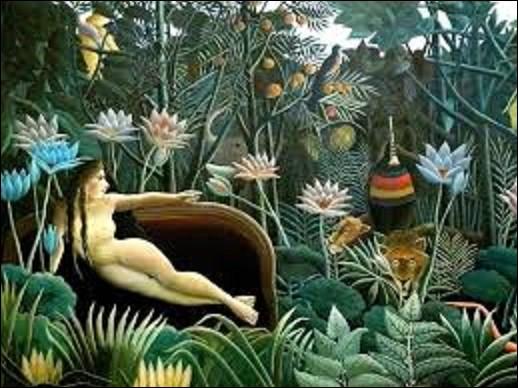 Actuellement conservé au Museum of Modern Art de New York, ''Le Rêve'' est une huile sur toile peinte en 1910 de 2,98 m sur 2,04 m. Quel artiste post-impressionniste, naïf et primitif a peint ce tableau ?
