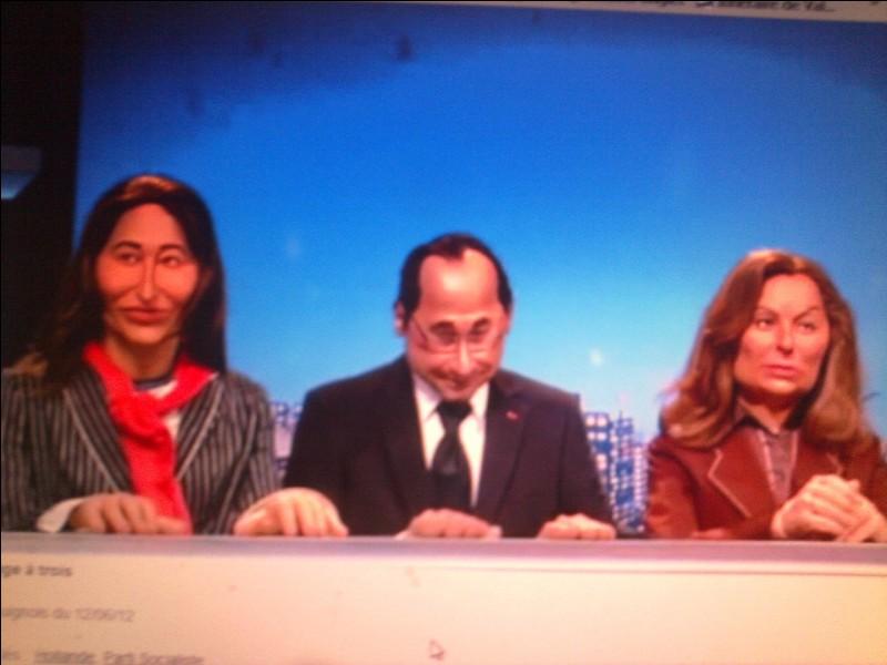 Qui est à droite de Hollande ?