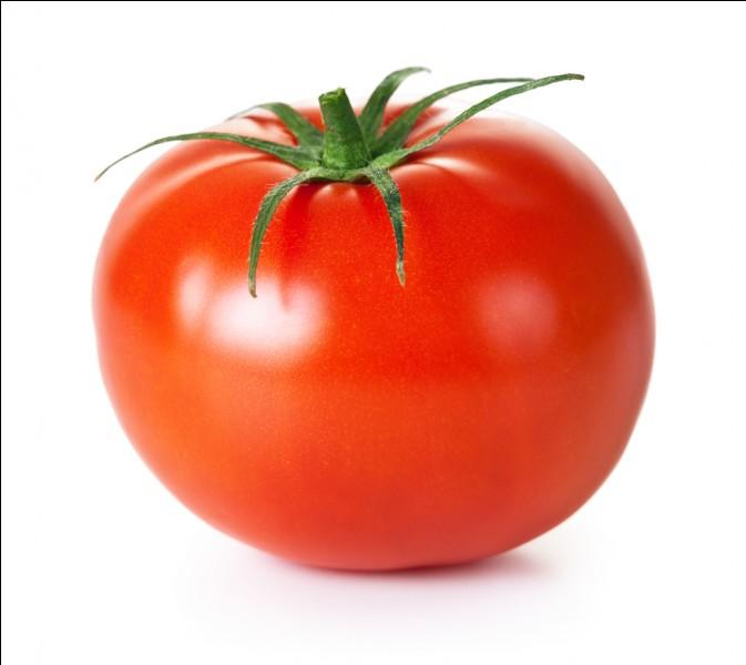 La tomate appartient au groupe des :