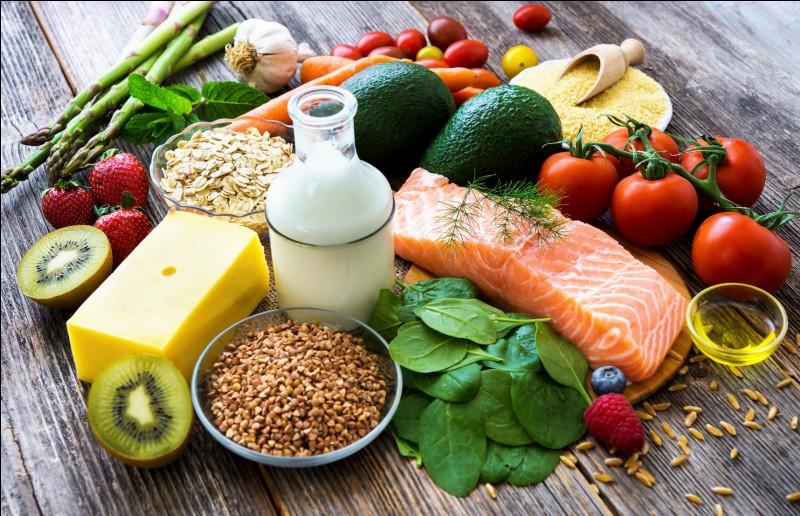 Les aliments sont classés en groupe selon :