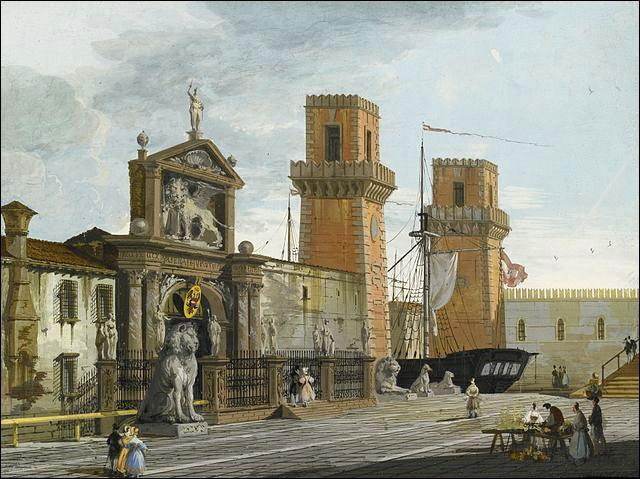 Vos pas vous mènent vers un bâtiment célèbre dans le sestiere de Castello. L'avez-vous reconnu ?