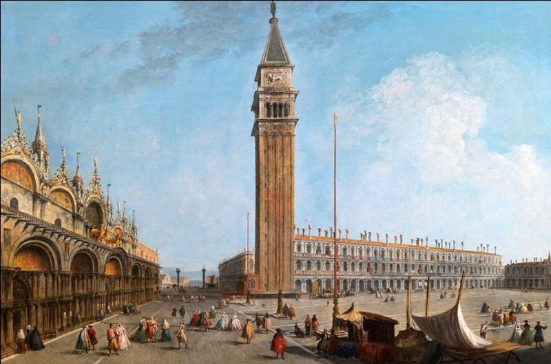 Ah ! le fameux campanile de Saint-Marc ! En 1609, le doge est monté jusqu'à son sommet pour la présentation d'une des premières lunettes astronomiques. Mais quel était le fameux scientifique qui l'a présentée ?