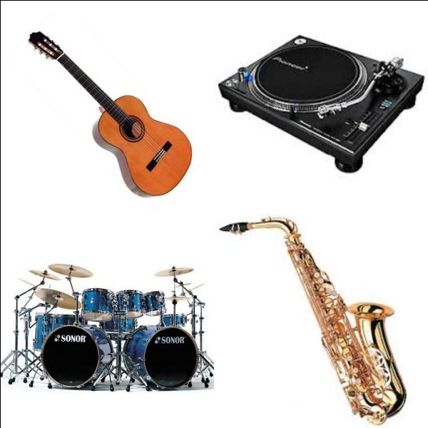 Quel est ton instrument favori parmi ceux-là ?