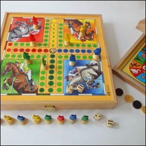 Au jeu de petits chevaux, combien faut-il que vous fassiez, quand vous jetez les dés, pour sortir votre cheval ?
