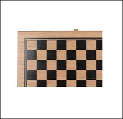 Combien y a-t-il de cases sur un plateau de jeu de dames ?