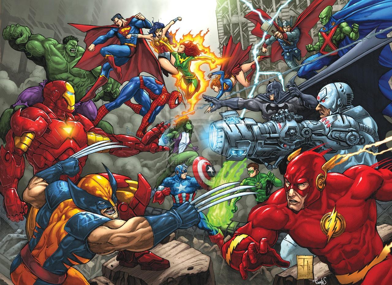 Quel super-héros DC ou Marvel es-tu ?