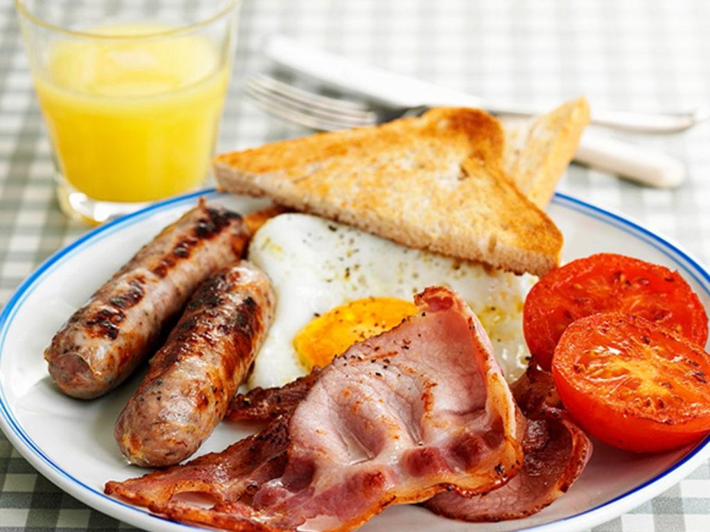 Le petit-déjeuner anglais
