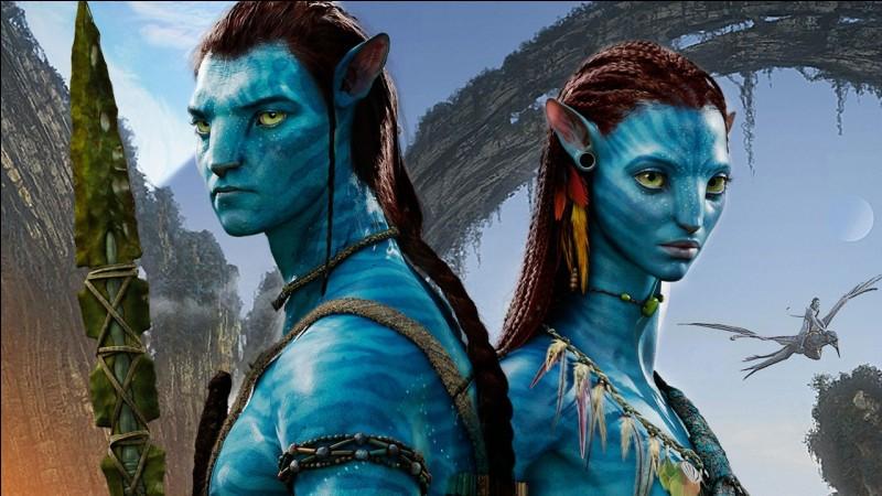 Comment s'appelle ce film avec les personnages bleus?