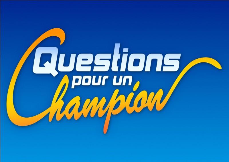 """Enfin, qui a animé """"Questions pour un champion"""" ?"""