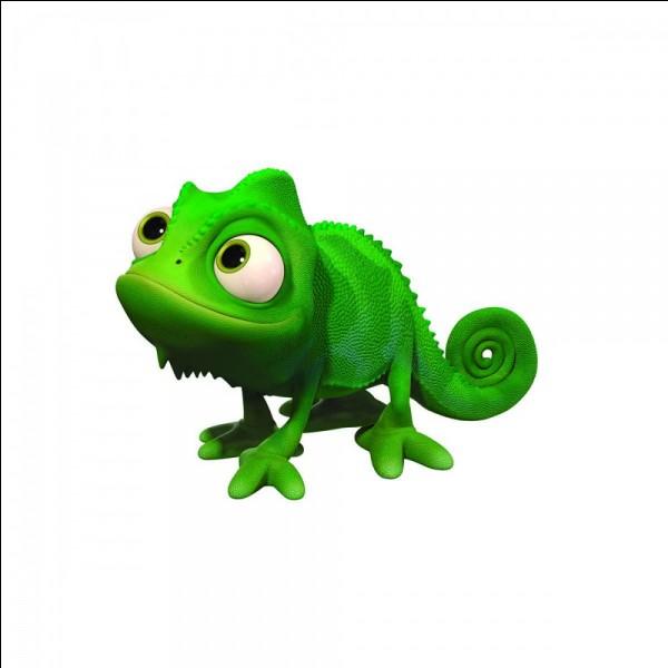 Comment s'appelle l'animal de Raiponce ?