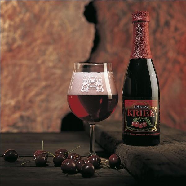 """K - La """"Kriek"""" authentique est une bière néerlandaise à la cerise."""