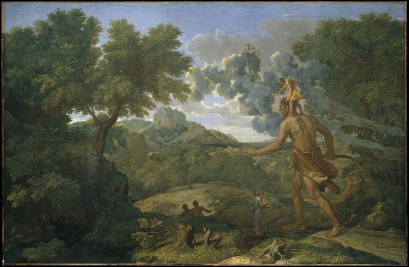 """O - Dans la mythologie grecque, """"Orion"""" est né aveugle."""