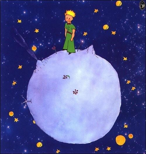 """A - Le Petit Prince, personnage du conte d'Antoine de Saint-Exupéry, est originaire de """"l'astéroïde B 612""""."""