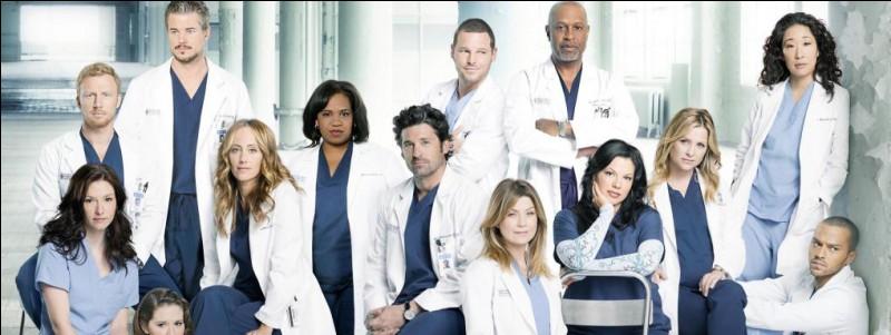 """G - """"Grey's Anatomy"""", la série télévisée médicale canadienne, raconte la vie des médecins d'un hôpital universitaire fictif."""