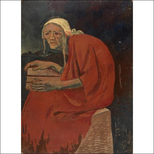 """Cette toile est appelée """"Sorcière bretonne"""", à qui appartient-elle ?"""