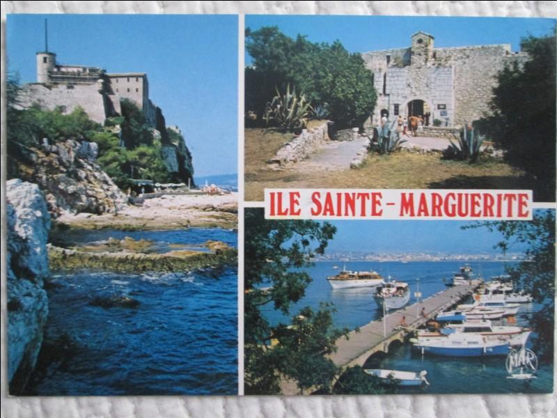 Chers amis de Quizz Biz, j'ai une pensée pour vous en revenant de l'île Sainte-Marguerite qui servit de prison au célèbre Masque de Fer ! Amicales pensées...