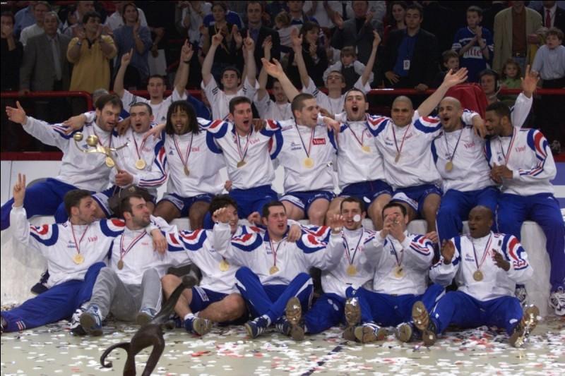 Quel était le premier surnom des joueurs de l'équipe de France de handball ?