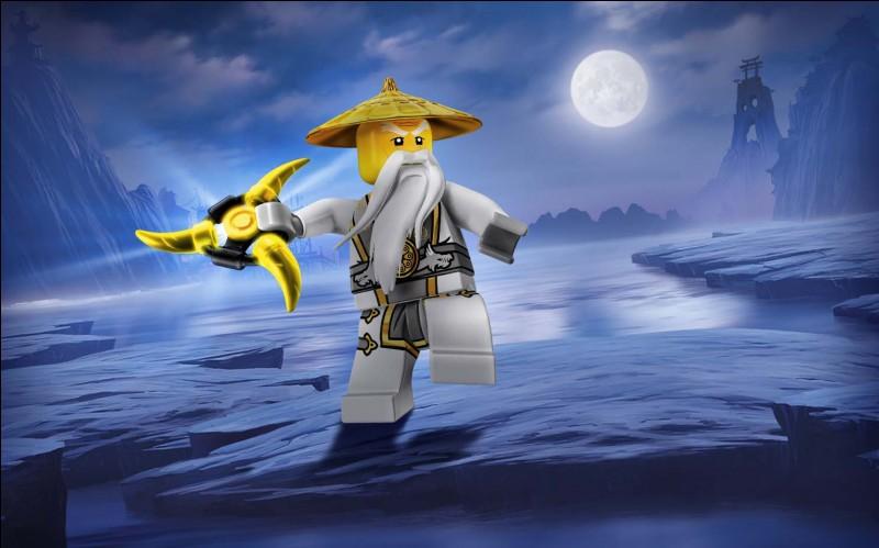 Comment s'appelle le sensei des ninjas ?