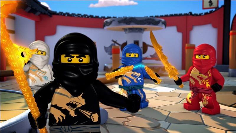 Quels sont les quatre éléments des ninjas ?