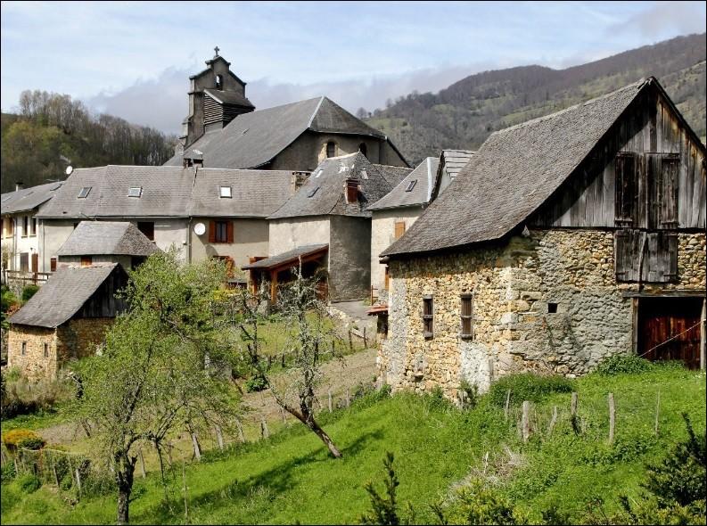"""Dans le livre de Denis Humbert """"Un si joli village"""", quel est le nom de ce village qu'il décrit situé aux confins du Puy de Dôme et du Cantal ?"""