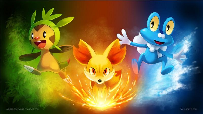 Dans quel dessin animé trouve-t-on ces 3 Pokémon ?