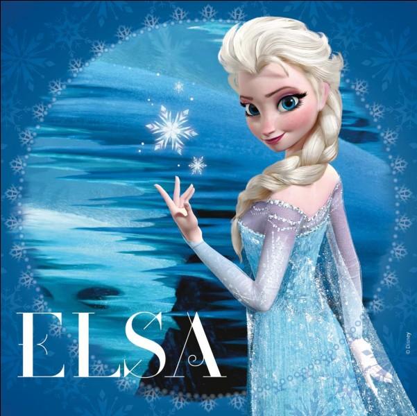 Pourquoi Elsa fuit-elle d'Anna?