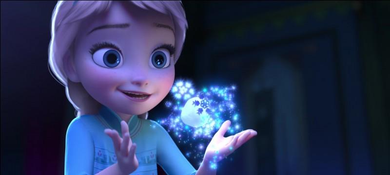 Pourquoi Anna adore-t-elle les pouvoirs d'Elsa?