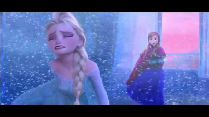 Que chantent Elsa et Anna?