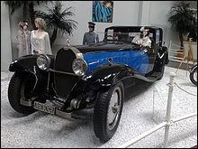 Bugatti est un constructeur automobile français.