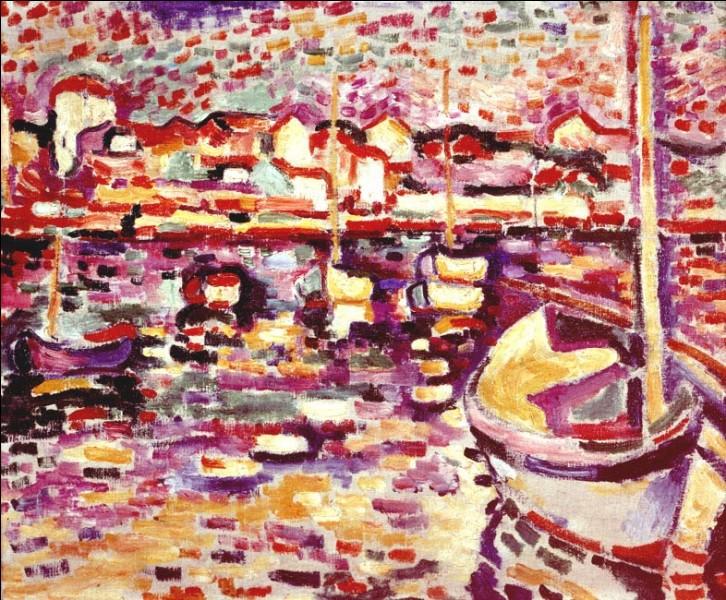 """""""Le port de l'Estaque"""" vers 1906, œuvre de la période fauviste de Georges Braque. A quel autre mouvement le nom de Georges Braque est-il principalement associé ?"""