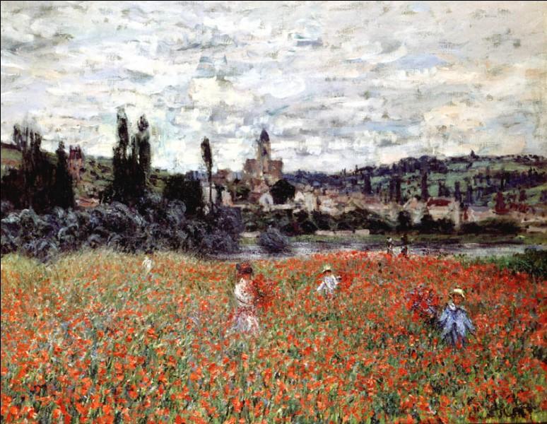 On ne présente plus Claude Monet, très tôt désigné par la critique comme étant le chef de file des paysagistes impressionnistes.Mais comment cette toile peinte vers 1879 s'appelle-t-elle ?