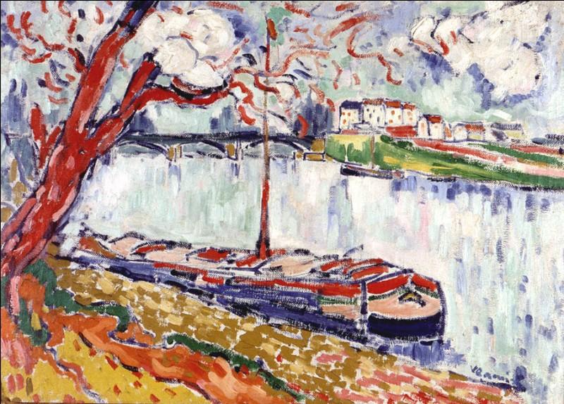"""Lors d'une exposition organisée dans une galerie parisienne en 1901, l'artiste découvre l'œuvre de van Gogh. """"Le Chaland sur la Seine au Pecq"""" de 1906 montre l'influence que celle-ci exerce sur lui. Mais il va beaucoup plus loin dans la représentation de ses motifs. Comment se nomme-t-il ?"""