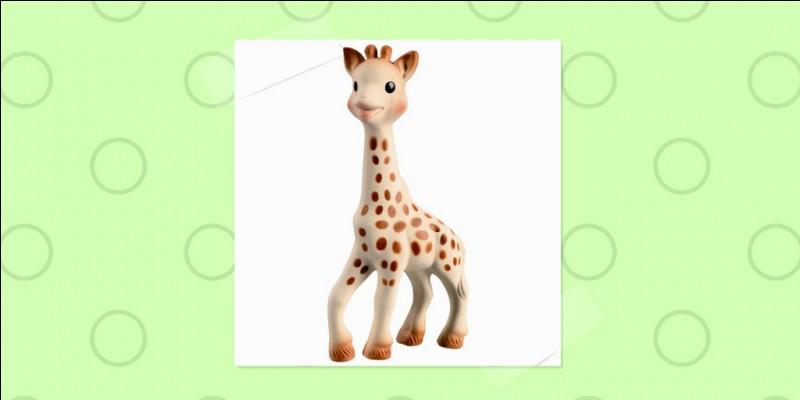 Comment s'appelle cette girafe, amie des enfants ?