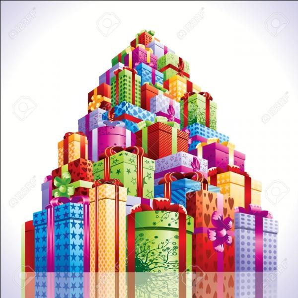 Combien de cadeau Dudley reçoit-il en tout ?