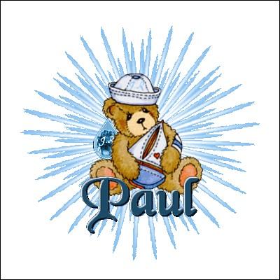 Je suis connu pour mes secrets, vous pouvez me les confier, ça ne sortira pas de Quizz Biz ! Je suis Paul...