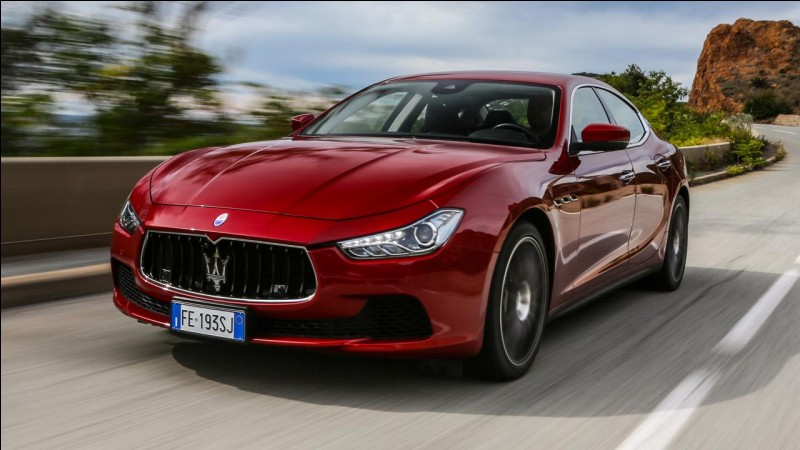 Quelle est cette Maserati ?