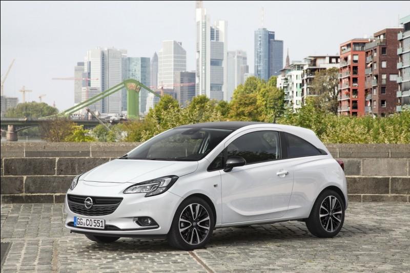 Quel est cette Opel ?
