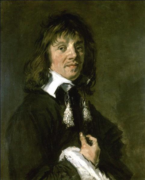 """Sa maxime : """"Je nie au peintre le plus grand, quel que soit son génie, le droit de s'y connaître en peinture ... d'autrui.""""Son portrait : """"Portrait d'homme"""" (1660/66)"""