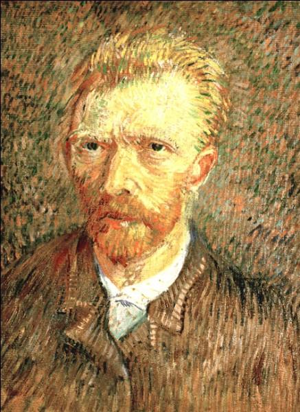 """Sa maxime : """"Le peintre de l'avenir, c'est un coloriste comme il n'y a pas encore eu.""""Son portrait : """"Autoportrait"""" (1887)"""