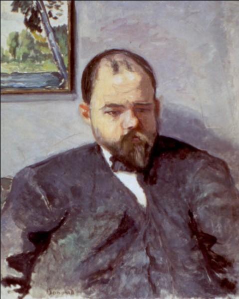 """Sa maxime : """"L'œuvre d'art est un arrêt du temps.""""Son portrait : """"Ambroise Vollard"""" (1904)"""
