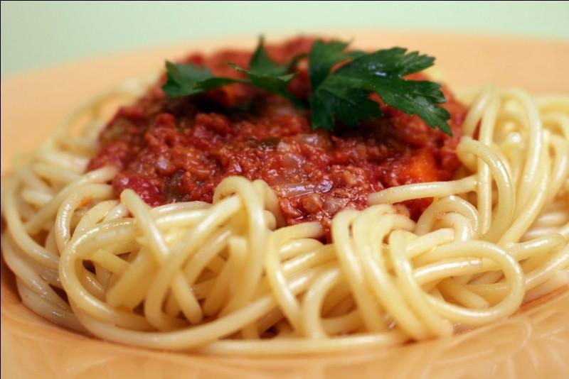 """Que veut dire """"spaghetti"""" ?"""