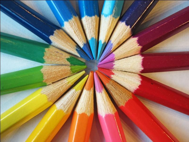 La couleur que tu préfères est...