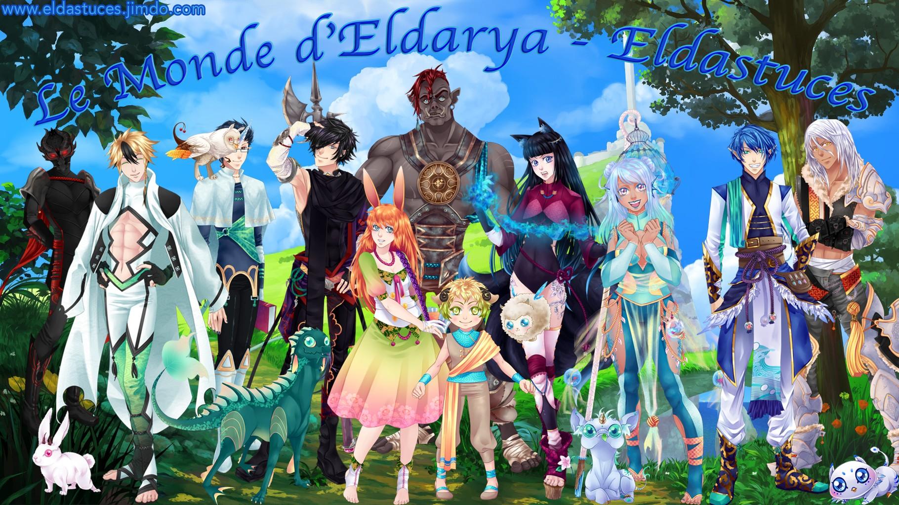 Quel personnage d'Eldarya es-tu ?