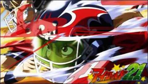 """En regardant le chiffre 21 sur l'image, vous avez sans douter deviné que la question parle du manga """"Eyeshield 21"""". Quel est le nom de l'équipe du jeune Sena Kobayakawa ?"""